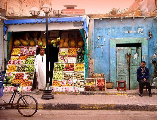 Ägyptischer Obstladen