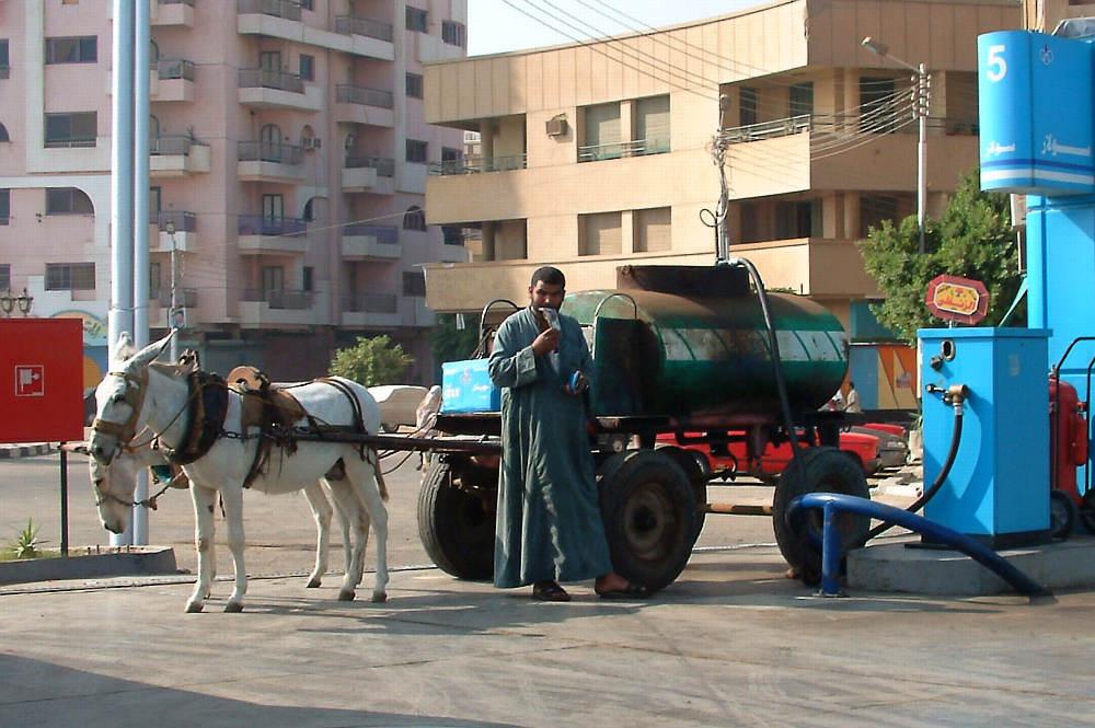 ägyptischer Tanklastzug