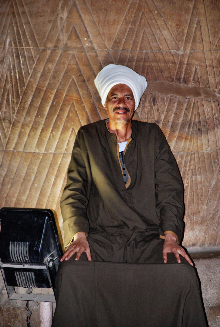 Ägyptischer Tempelwächter