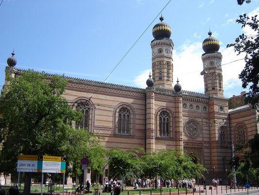 Aelteste Synagoge Europas in Budapest