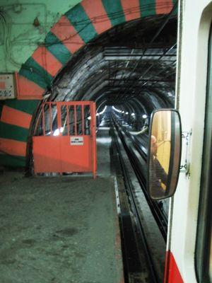 Älteste U-Bahn der Welt (Istanbul)