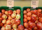 Äpfel mit lustigen Namen