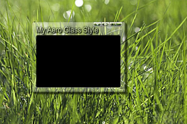 Aero Glass Style wie Windows Vista