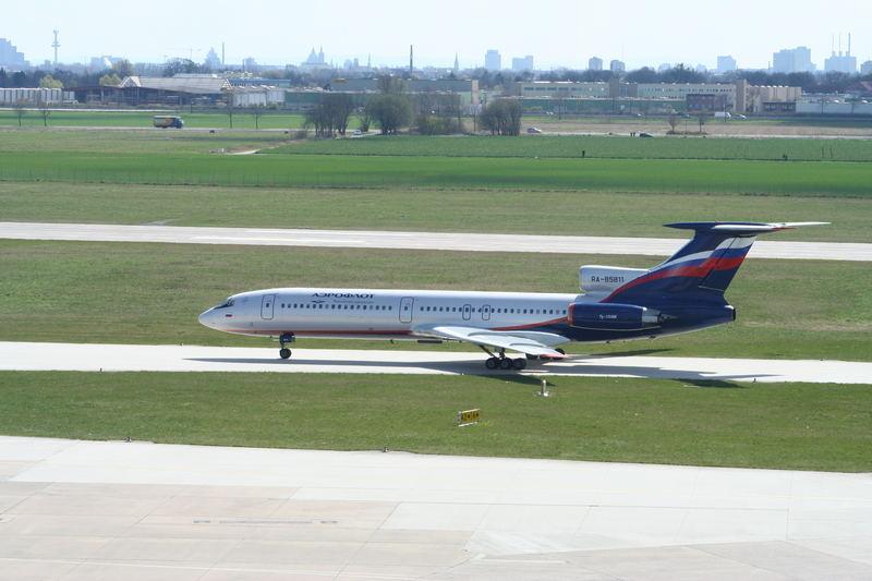 Aeroflot Blitz und Donner