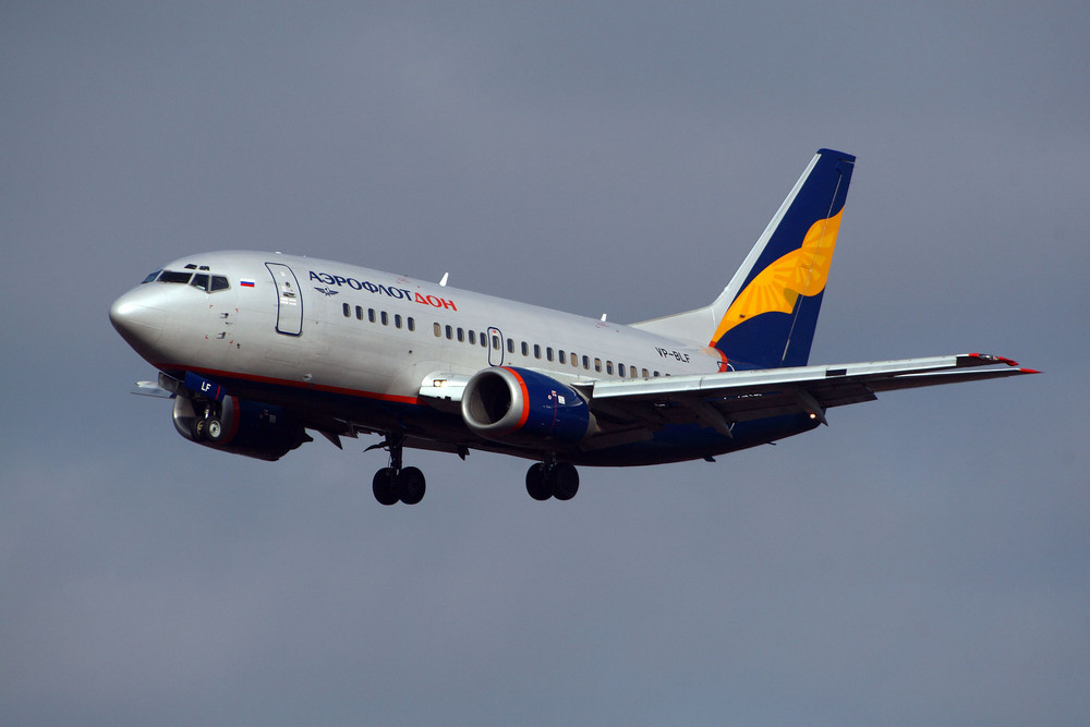 Aeroflot Don Boeing 737-528 (VP-BLF)