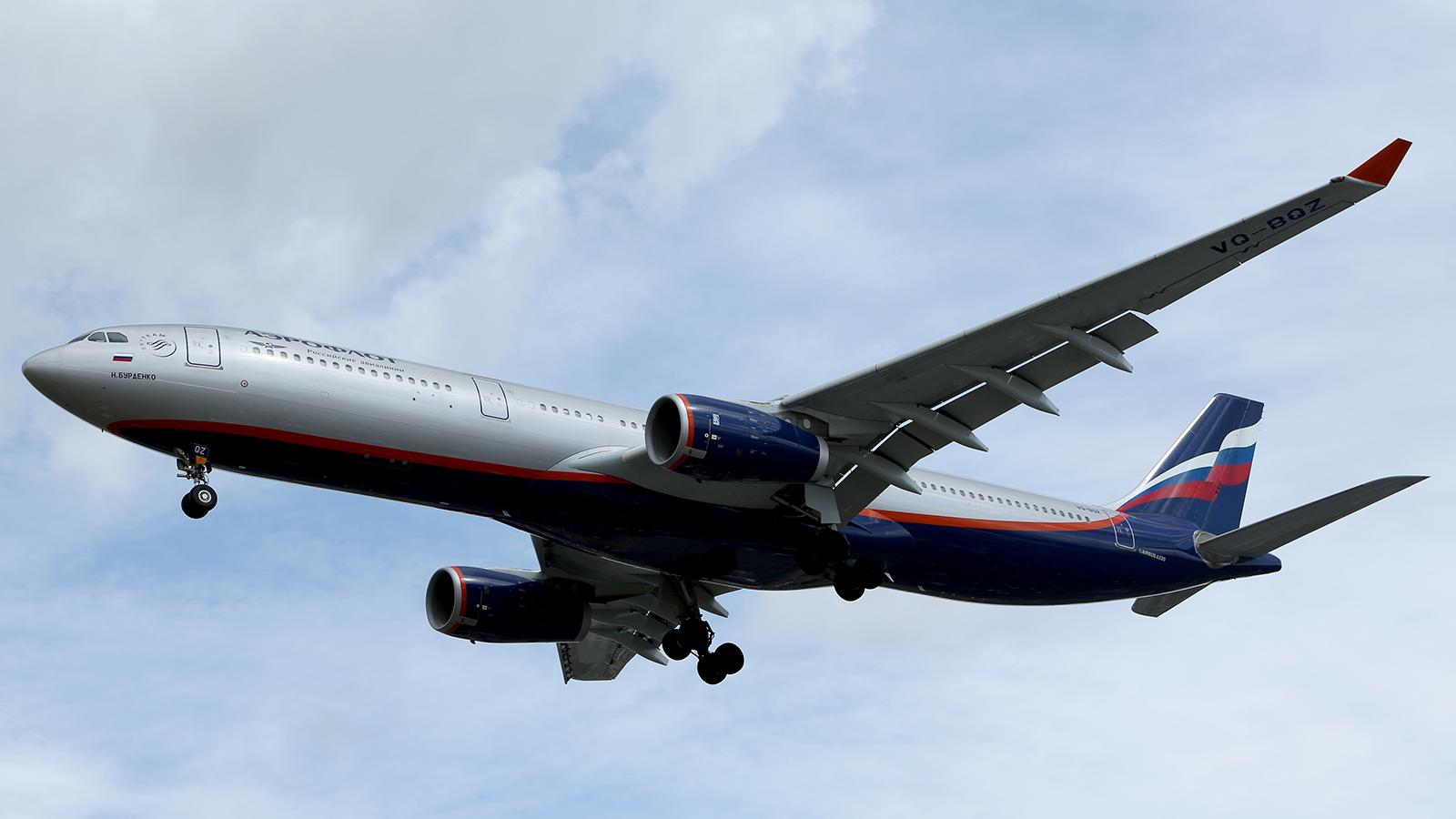 Aeroflot - Russian Airlines (VQ-BQZ)
