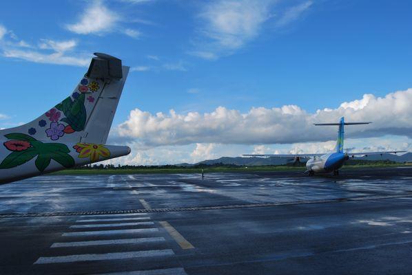 Aeroport Aimé Césaire... Martinique