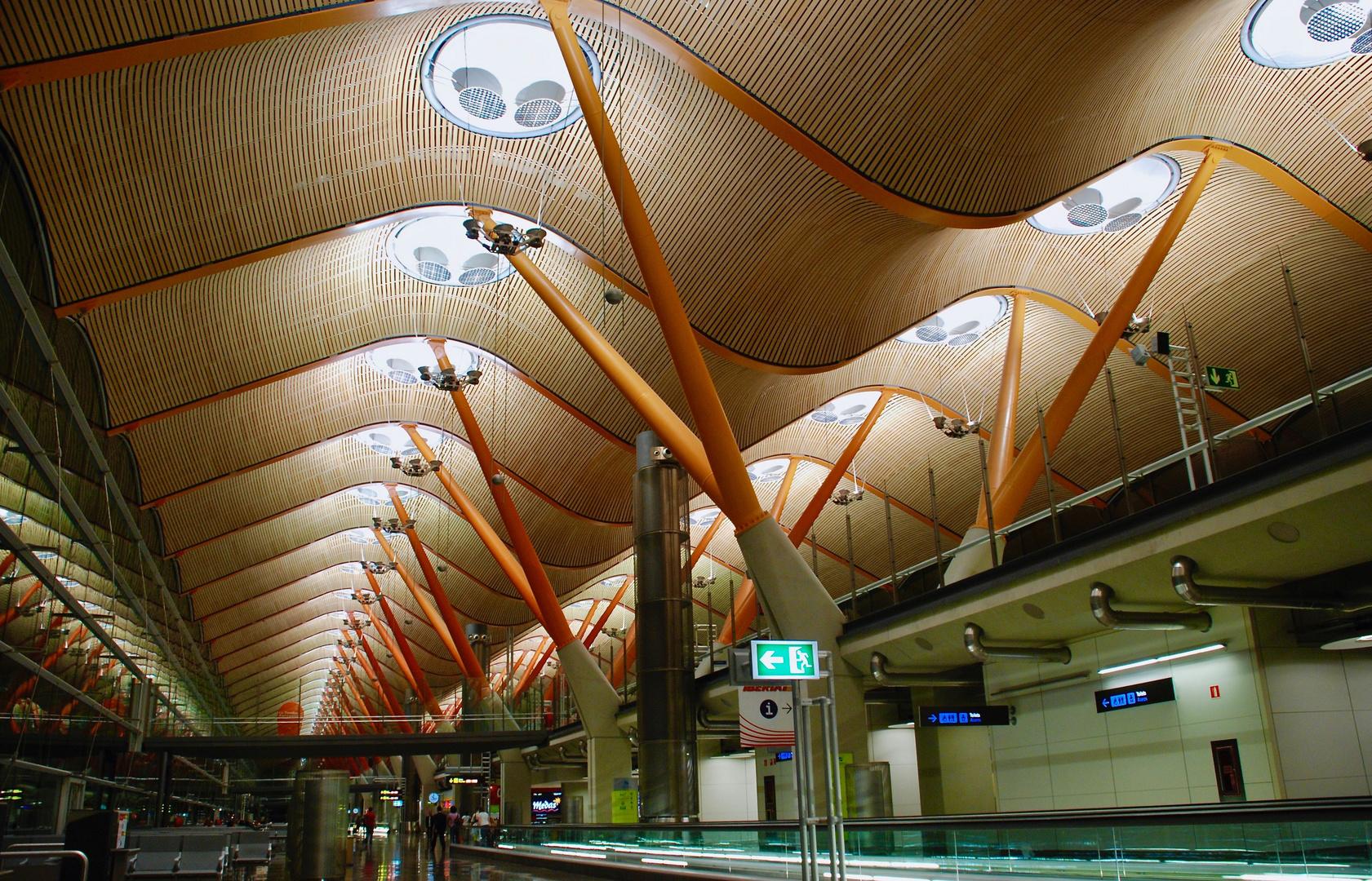 """Aeroporto """"Barajas""""-Madrid"""