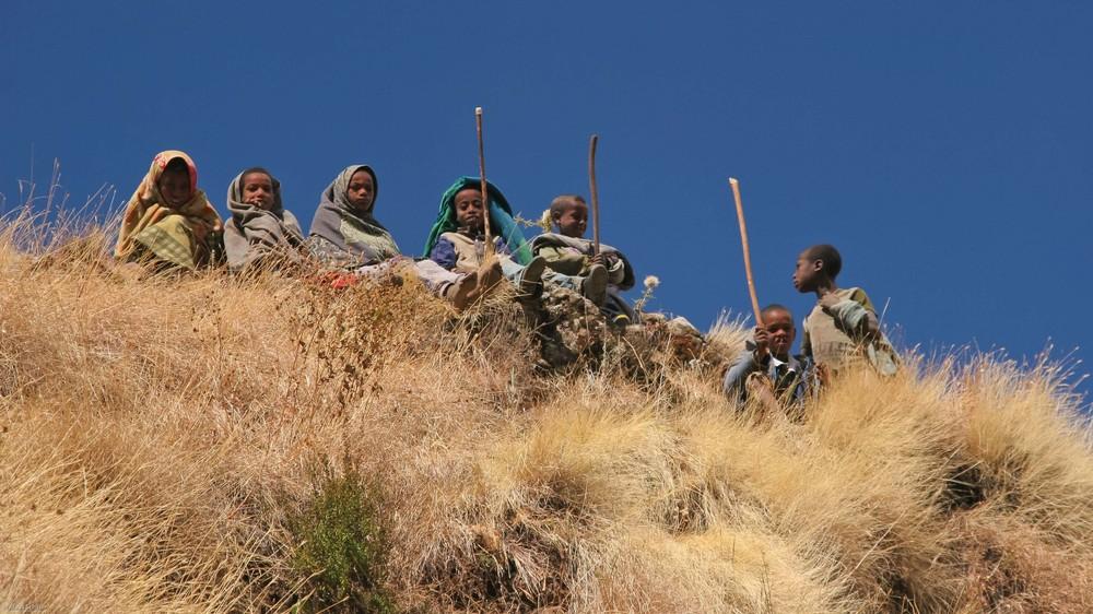 Äthiopien - Es gibt immer was zu warten ...