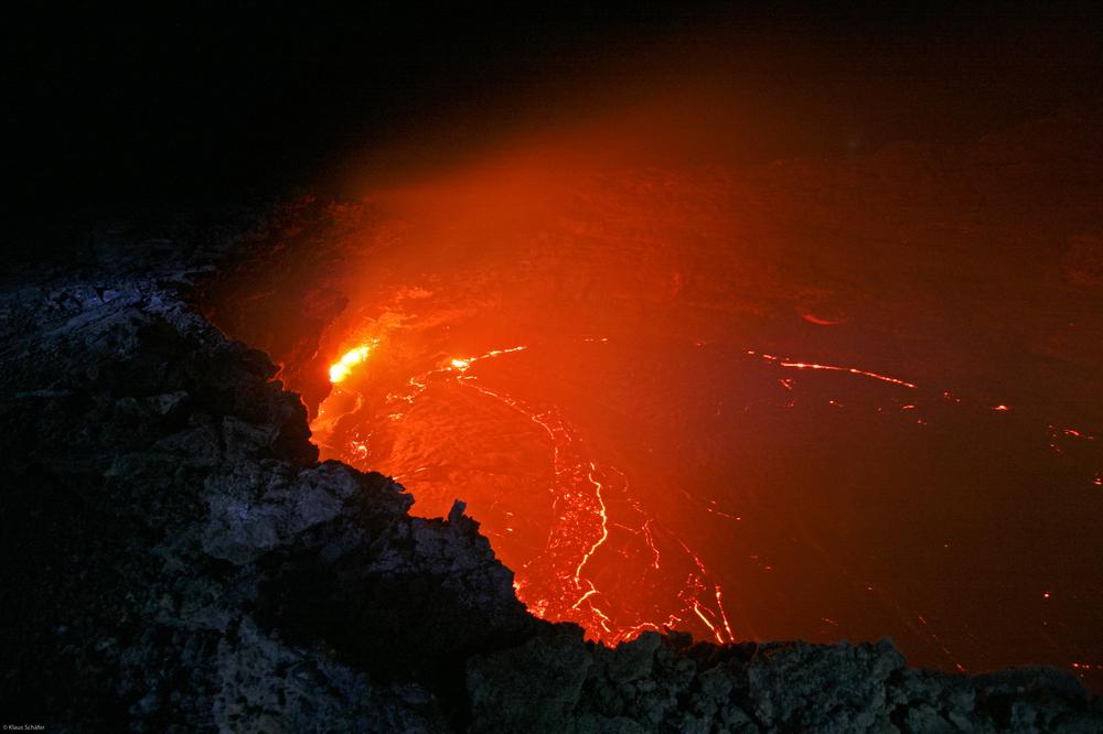 Äthiopien - Feuerschlund am Vulkan Ertale (5)