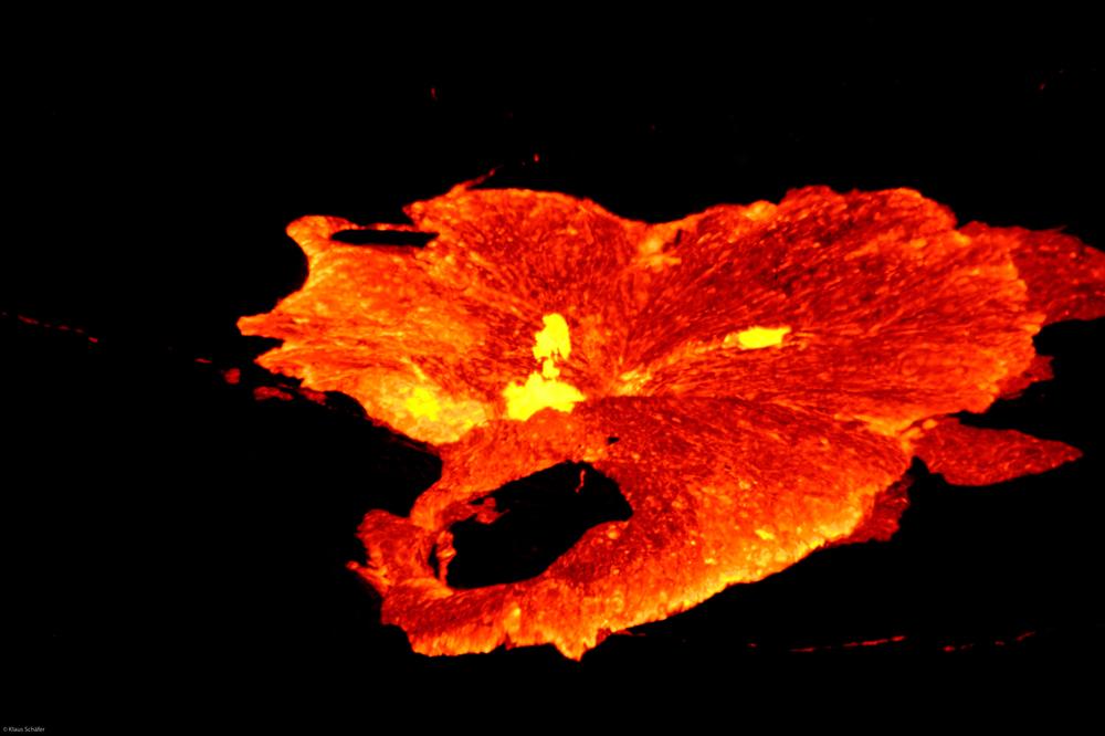 Äthiopien - Feuerschlund am Vulkan Ertale (7)
