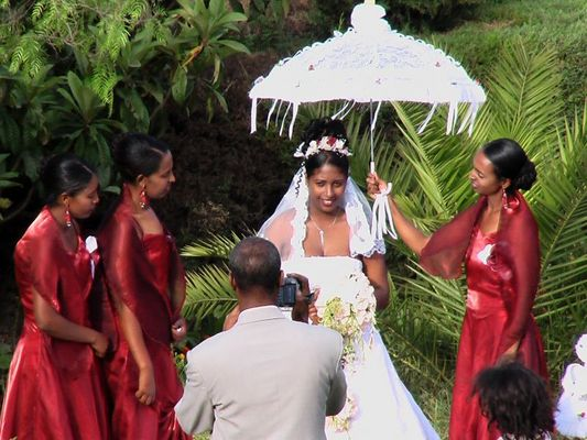 äthiopische Hochzeit
