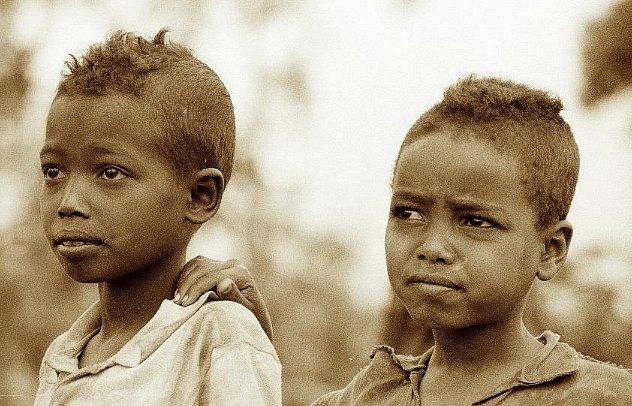 Äthiopische Kinder08