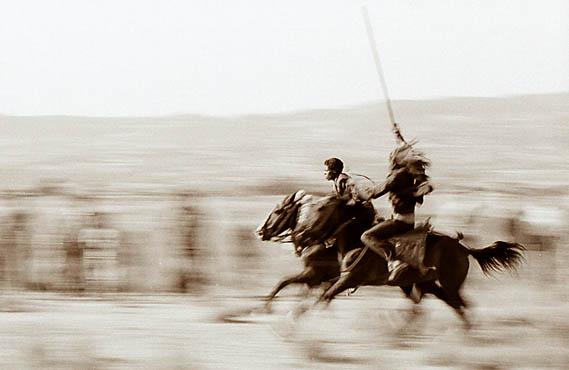 Äthiopische Reiterkämpfe 2