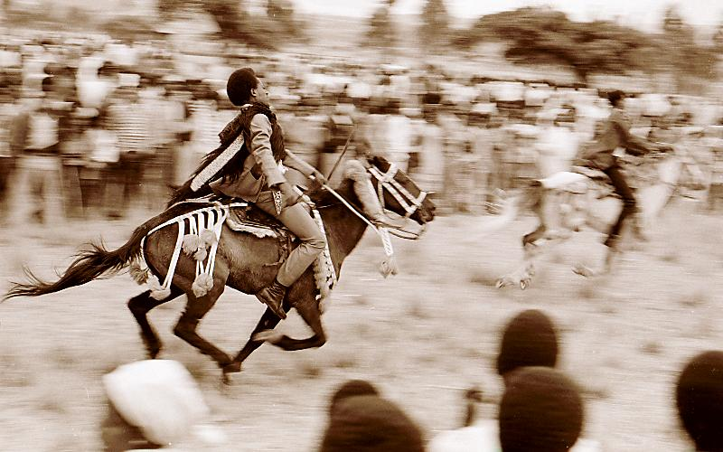 Äthiopische Reiterkämpfe 4