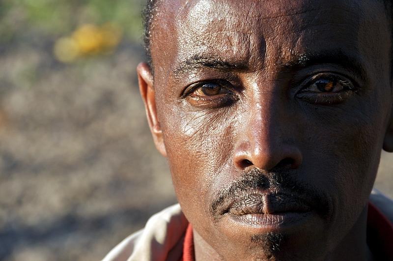 Äthiopischer Bauer