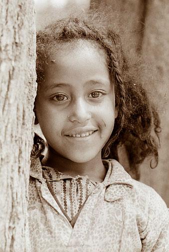 Äthiopisches Mädchen