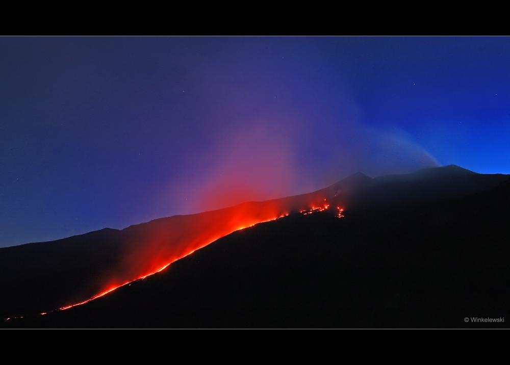 Ätna-Eruption vom 22.07. (1.Teil)