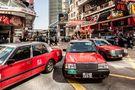 Taxi Hongkong von rosseb