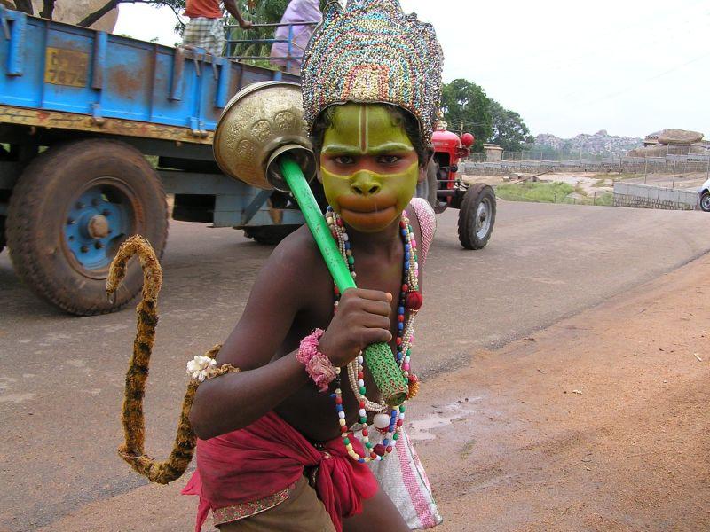 Affengott in Indien