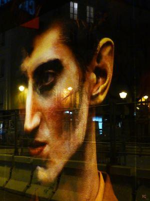 Affichage & Transparence, de nuit...