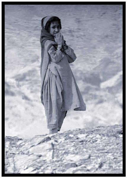 Afghan Girl - Tribal Area, Pakistan