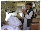 Afghanischer Infusionsständer
