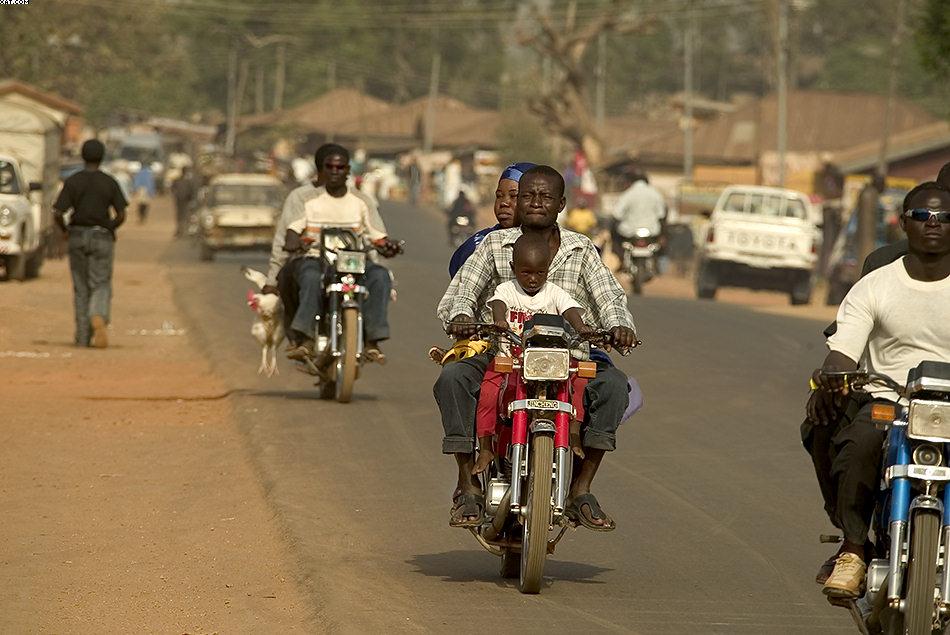 African Street-Life