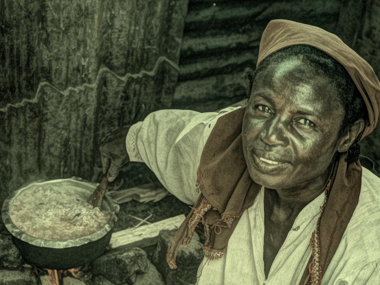African woman II