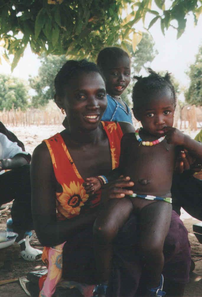 Afrika hautnah bei Freunden