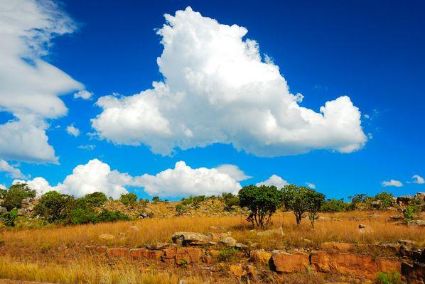 Afrika-Himmel
