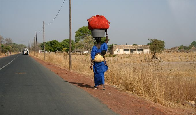 afrikanisch frau