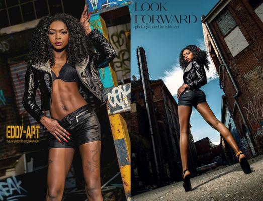 Afrikanische Models