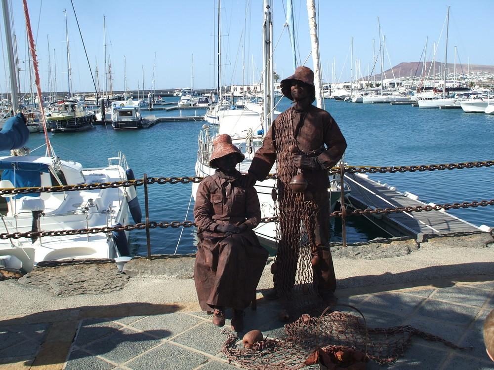 Afrikanische Sklaven aus der Karibik