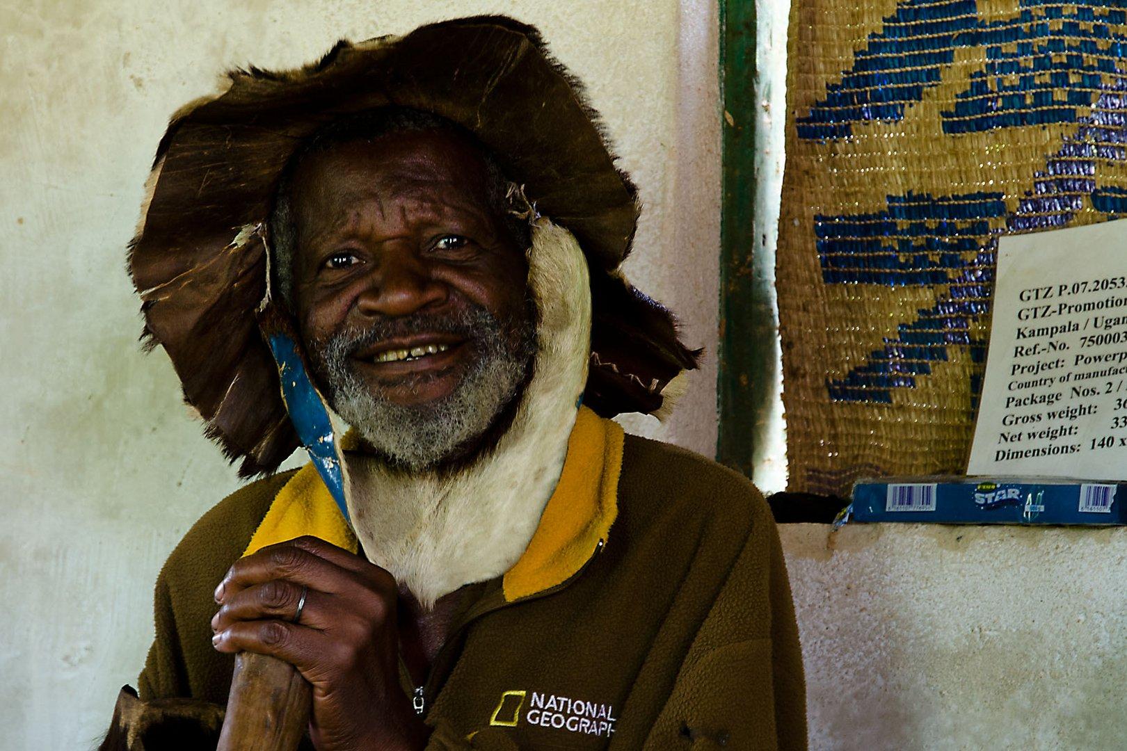 Afrikanischer Medizinmann