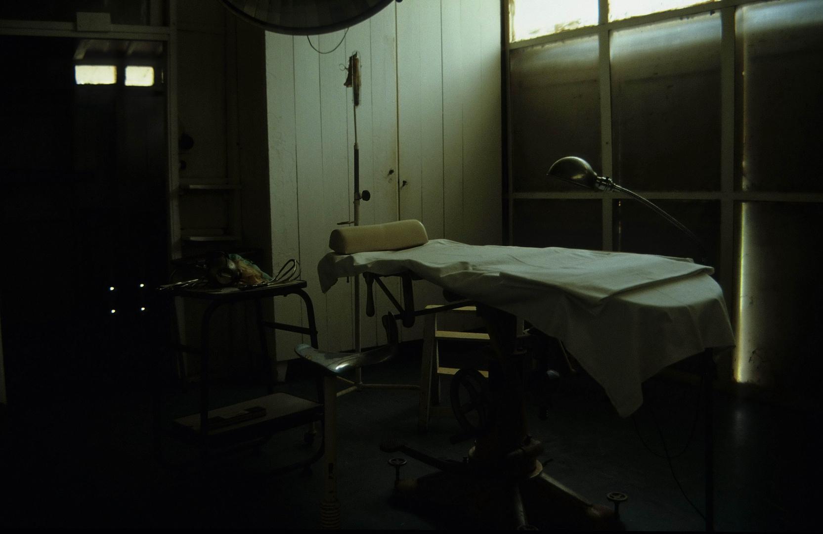 Afrikanischer Operationssaal