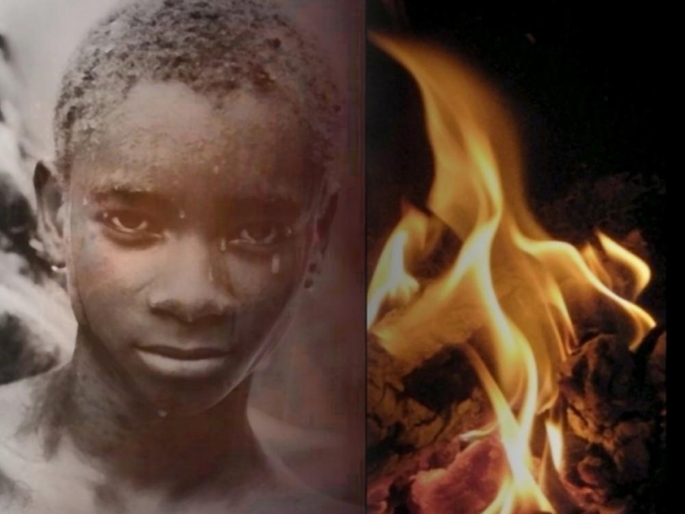 Afrique Dans la tourmente de la vie , le regard de l'espoir