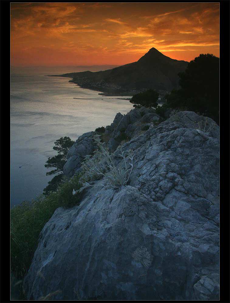 After a croatian sunset...