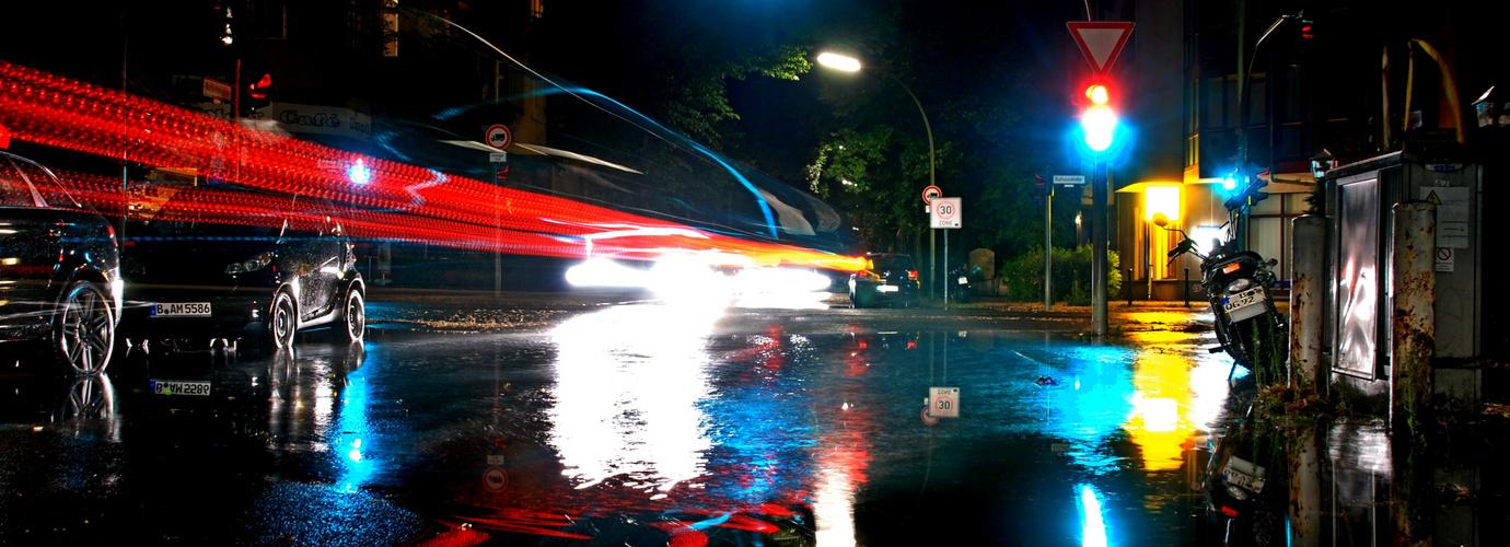 After rain in Berlin