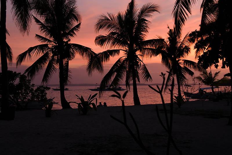 After Sunset at Malapascua, Cocobana Beach Resort