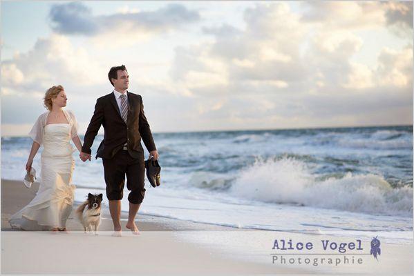 After-Wedding-Shoot auf Sylt