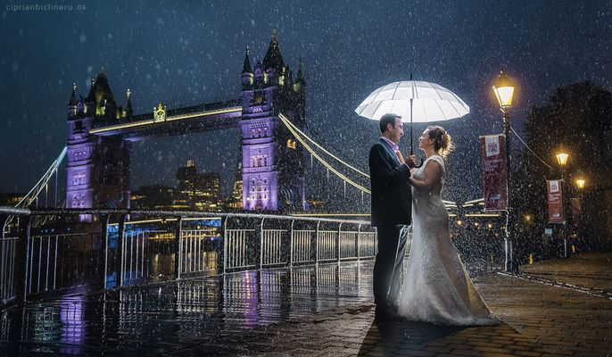 After wedding shooting in London 01