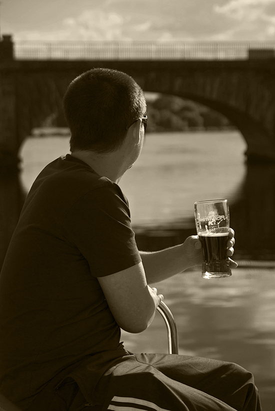 After-work beer - Shannon (Irland)