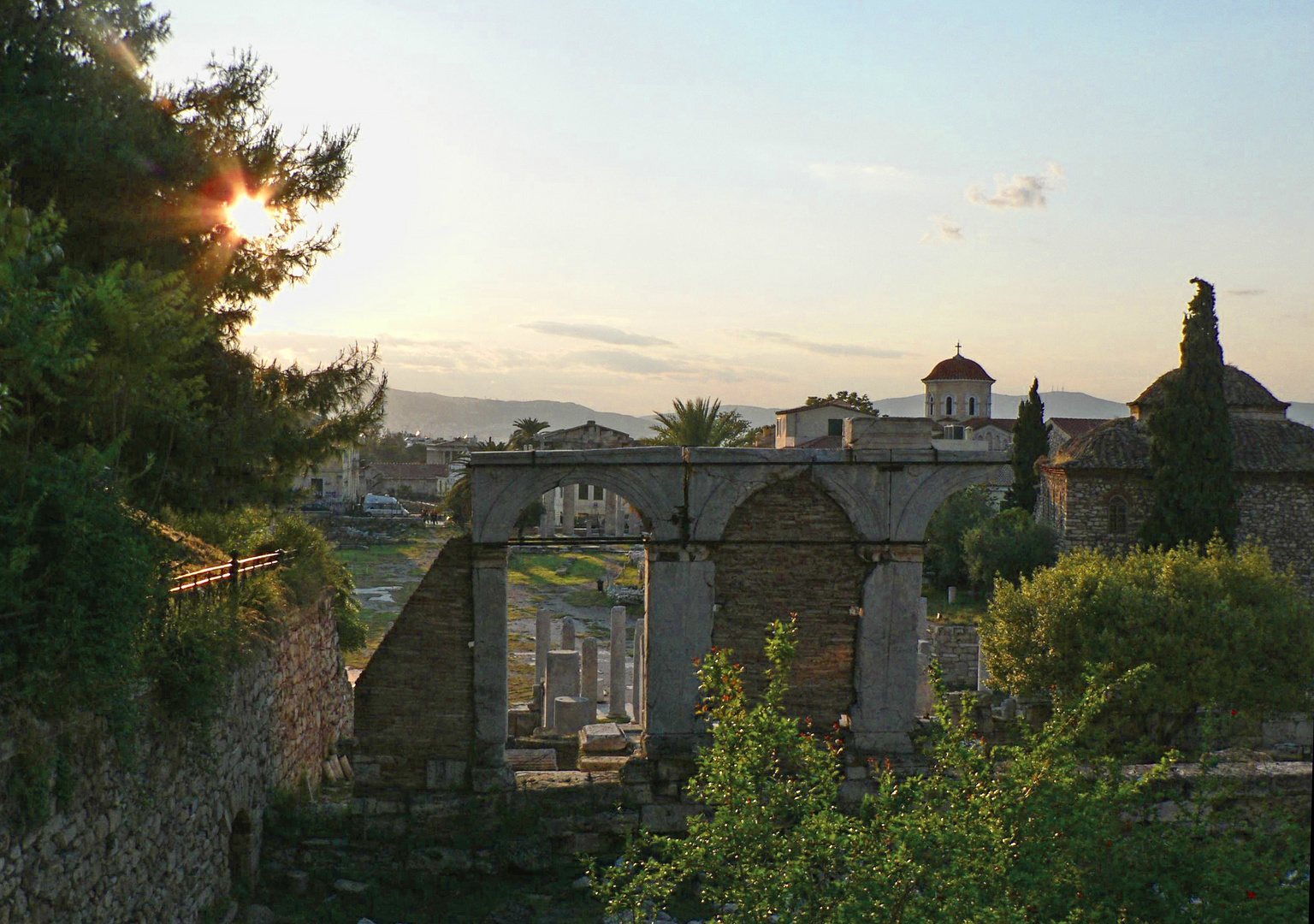 Afternoon at the Roman Agora