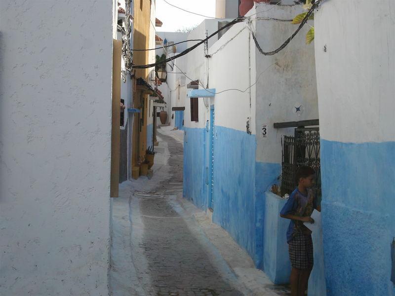 Agadir (Leider stand die Stadt nicht zur Verfügung) - Hinter den alten Mauern der Stadt