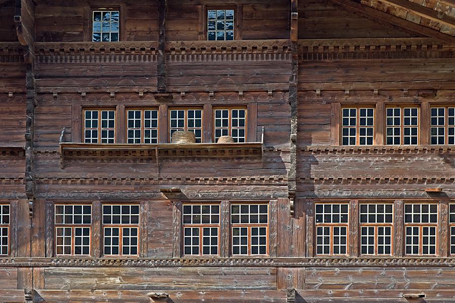 Agensteinhaus, Erlenbach im Simmental