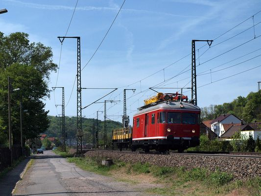 Aggerbahn mit 701 on Tour