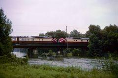 Aggerbrücke bei sch… Wetter