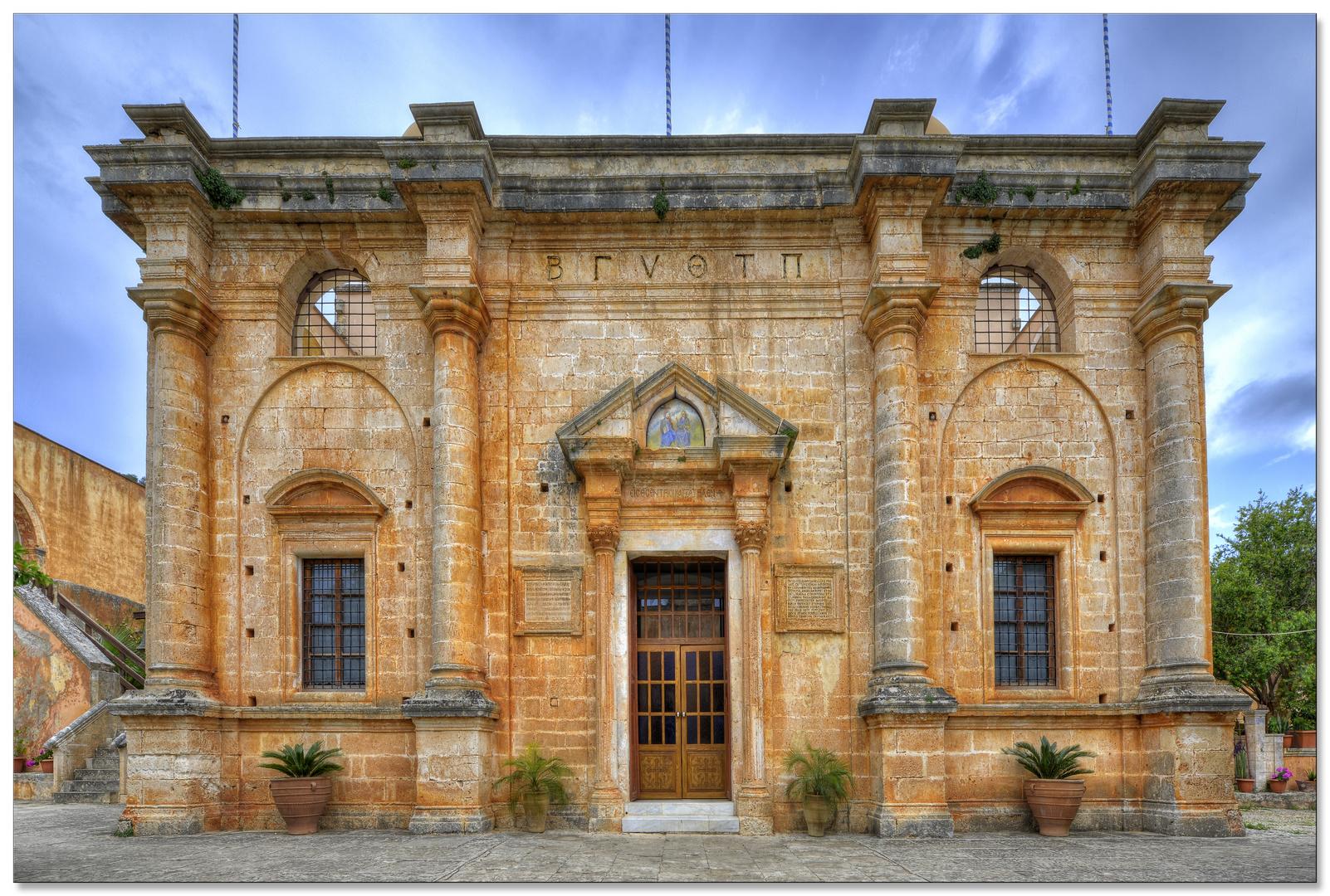 Agia Triada-Kloster Kirche