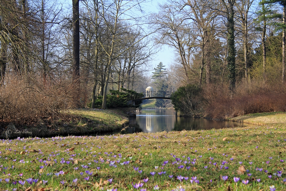 Agnesbrücke im Frühling
